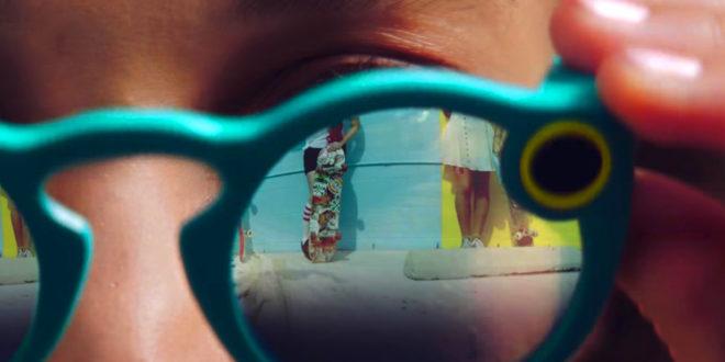 Snapchat lunettes Spectacles realite augmentee filtre secret twitter decouverte acheter prix date
