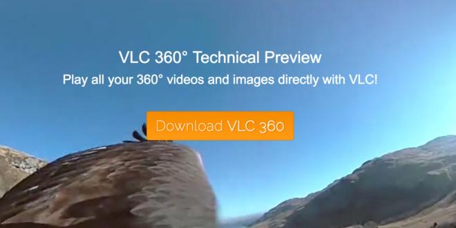 vlc media player video 360 realite virtuelle multimedia giroptic