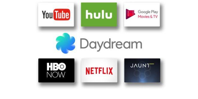 daydream vr google netflix hbo nextvr streaming