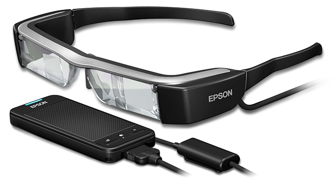 test epson moverio bt 300 lunettes realite augmentee connectee avis prix applications tutoriel acheter