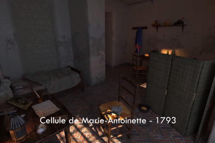 Histopad visite réalité augmentée Conciergerie Paris moyen-âge révolution