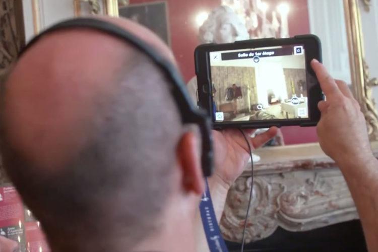 Histopad Conciergerie Paris tablette réalité aumentée visite remonter le temps