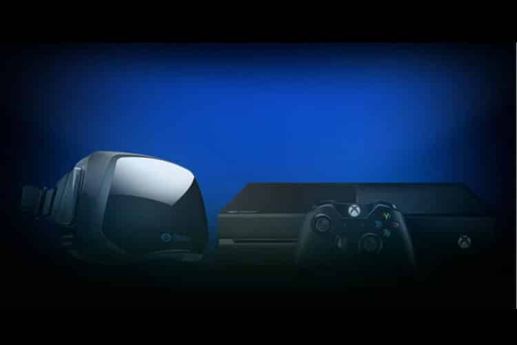 Jeux Xbox One sur Oculus Rift mode streaming