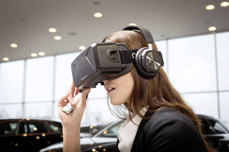 Marketing réalité virtuelle concessionnaires auto