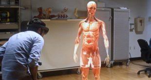 microsoft hololens anatomie médecine case western