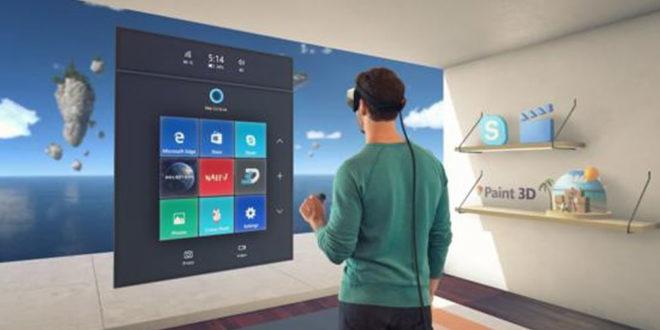 Microsoft plan réalité virtuelle réalité augmentée 2017 casques