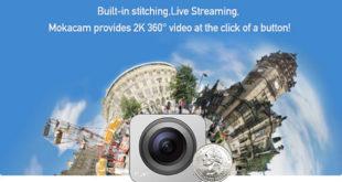 Moka 360 caméra 360 degrés 120 euros