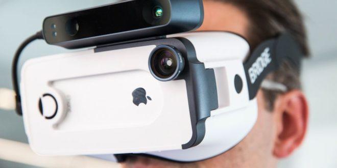 occipital bridge iphone réalité augmentée réalité virtuelle room scale