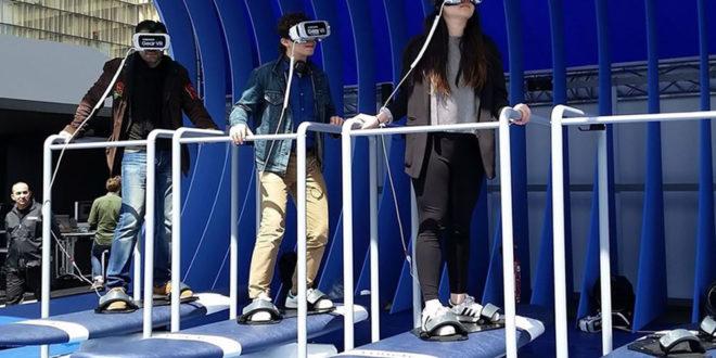 Parc réalité virtuelle gratuit Samsung Paris décembre 2016