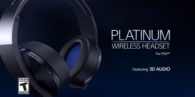 Sony Platinum Wireless Un Casque Audio 3d Pour Le Playstation Vr