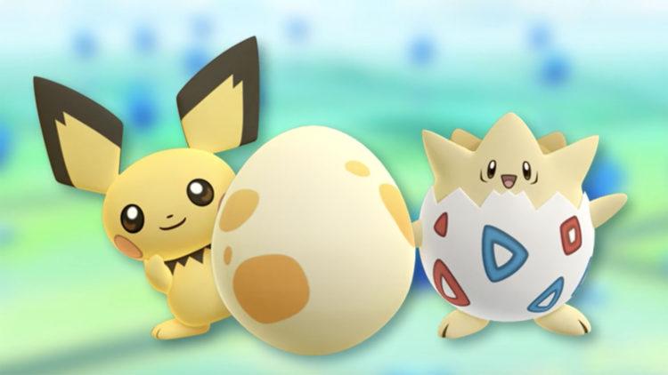 Pokemon go deuxieme generation or argent 251 mise a jour sortie pichu togepi oeufs