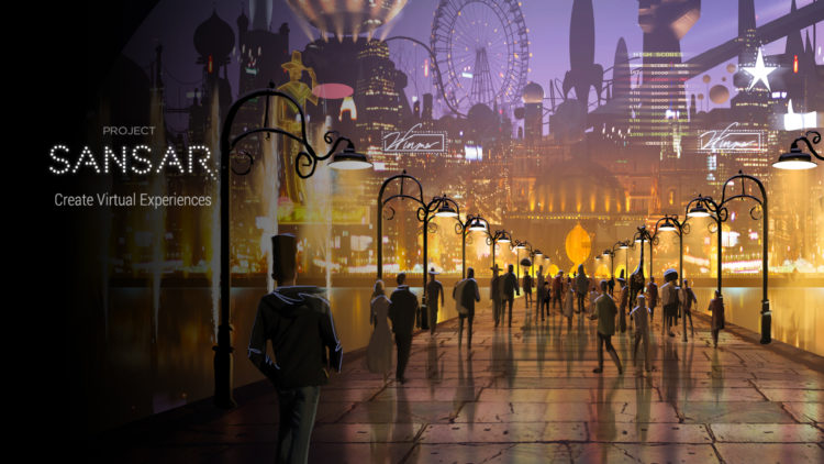 Projet sansar vr application sociale oculus htc second life date sortie htc oculus