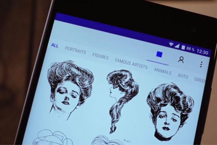 Appli Pour Dessiner Sur Les Photos sketchar : pour apprendre le dessin grâce à la réalité augmentée
