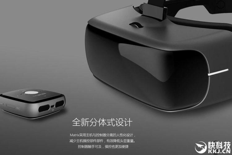 Storm Mirror casque autonome constructeur chinois Matrix