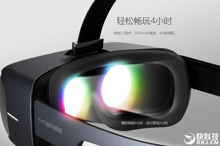 Storm Mirror Matrix casque autonome VR
