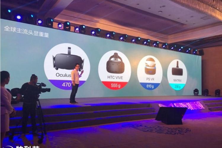 Storm Mirror réalité virtuelle casque autonome PC smartphone puissant