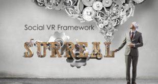 surrealvr, social vr, htc, réalité virtuelle, framework, développement