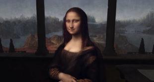 Tableaux réalité virtuelle Mona Lisa Léonard De Vinci peintures