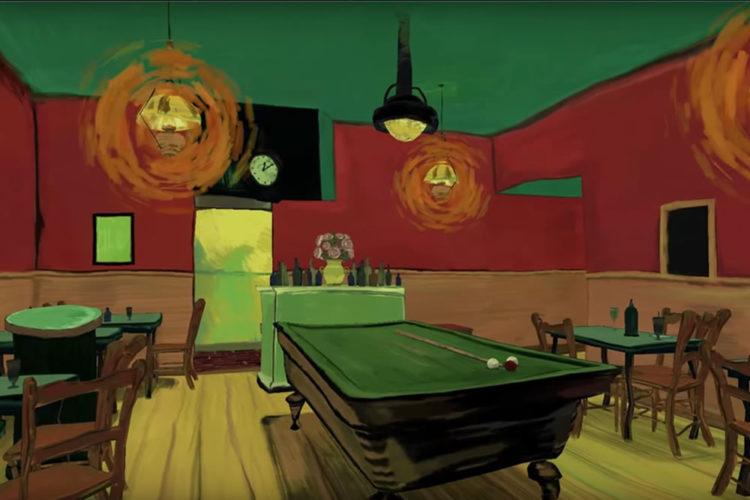 Tableaux réalité virtuelle Vincent Van Gogh peinture tableau VR