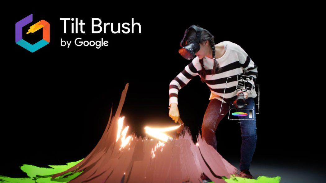 tilt brush droit réalité virtuelle