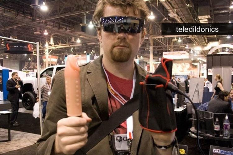 AVN Show teledildonics VR