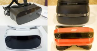 ces 2017 casques windows vr ar windows holographic acer hp dell 3glasses