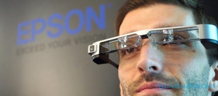 Epson Moverio BT-300 test lunettes connectées augmentée android hololens