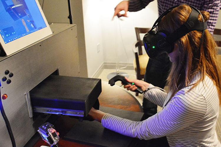 HaptX toucher en réalité virtuelle chaud froid sensation tactile