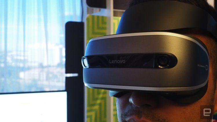 Un casque aussi abordable que le PlayStation VR — Lenovo VR