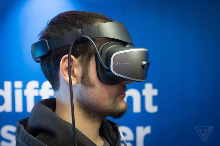 Lenovo dévoile un casque VR en partenariat avec Microsoft