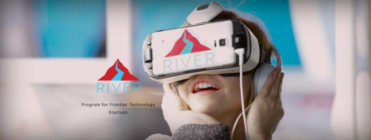 accélérateur VR river startup investissement mentor