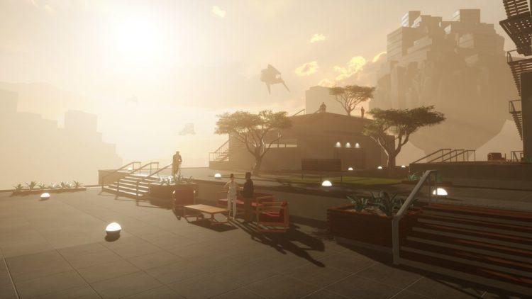 Sansar Linden Lab expérience VR