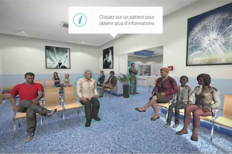 SimforHealth plateforme enseignement médical en réalité virtuelle cas cliniques