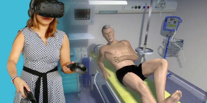 SimforHealth application réalité virtuelle formation étudients en médecine
