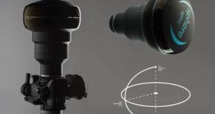 Sphere Pro optique objectif filmer à 360 degrés caméra réflex hybride