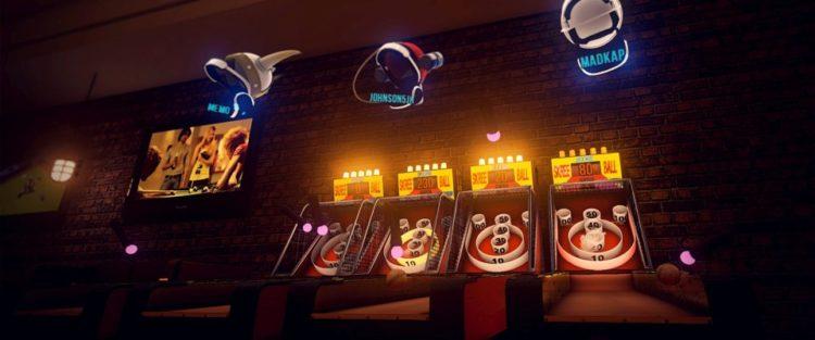 HTC Vive PS VR Oculus sports bar vr billard