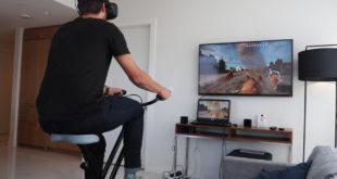 virzoom fitbit vr réalité virtuelle