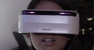 VR Headset Panasonic FOV 220 degrés champ vision complet