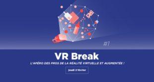 VR Break publithings IoT break apéro décontracté professionnel secteur réalité virtuelle networking