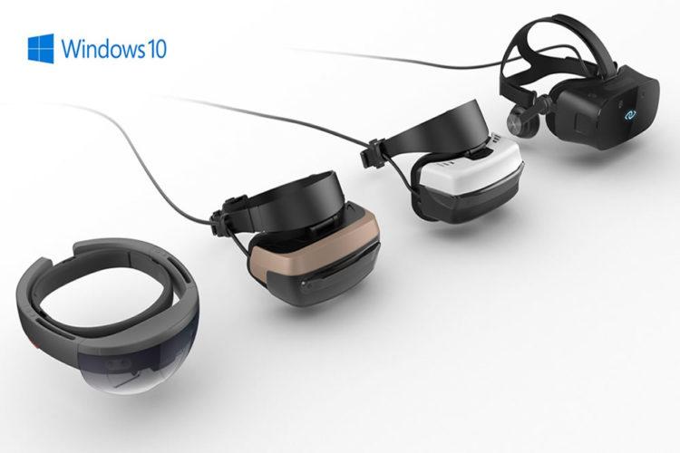 Windows 10 Creators Update moteur 3D réalité augmentée sortie avril 2017
