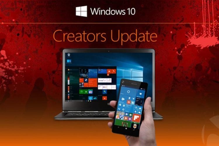 Windows 10 Creators Update moteur 3d réalité virtuelle compatibilité casques VR