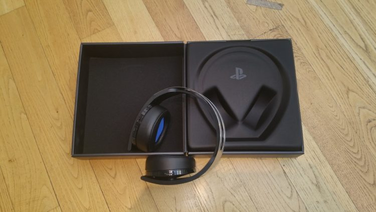 unboxing casque platinum