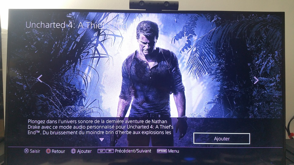 PS4 Uncharted 4 PS VR Nathan Drake Playstation Platinum so,n 3D