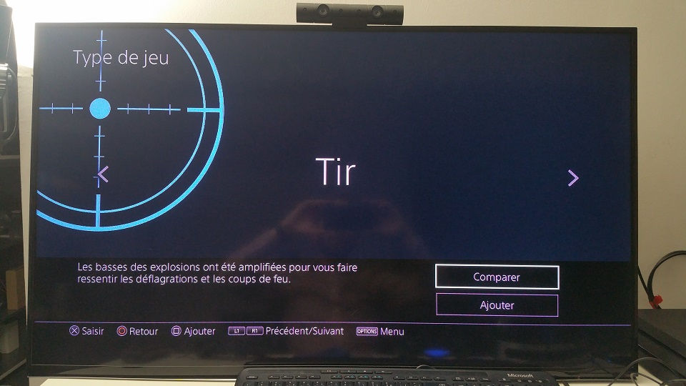test son tir playstation platinum