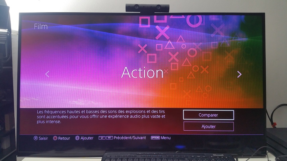 film action test son playstation platinum