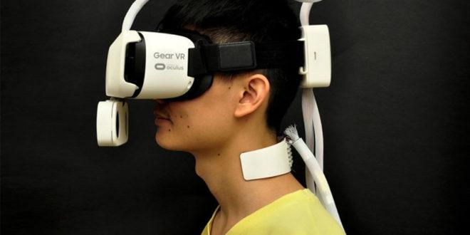 Ambiotherm sensation chaud froid vent en réalité virtuelle VR