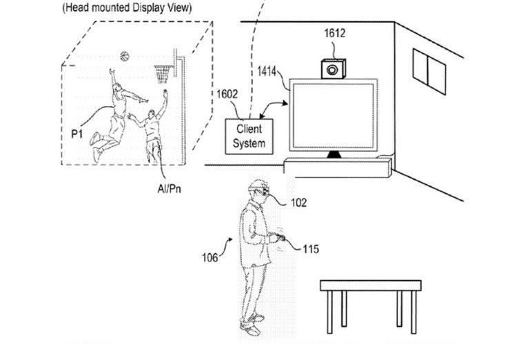 Brevet PlayStation VR détecteur mouvements