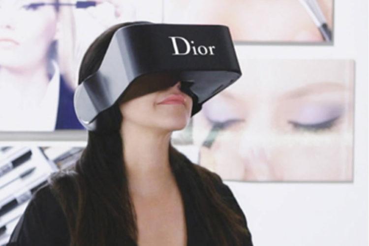 Campagne publicitaire avec réalité virtuelle