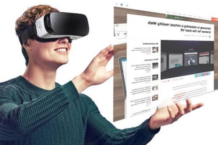 Chrome visualisation contenus réalité virtuelle VR WebVR
