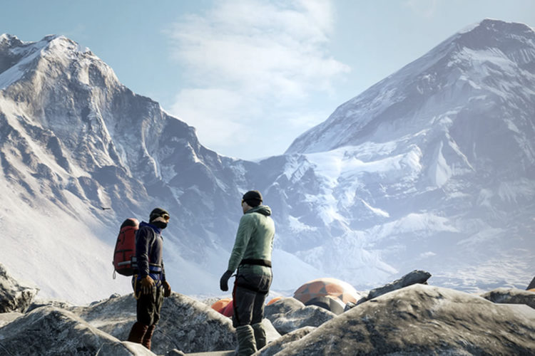 Everest VR jeu escalade